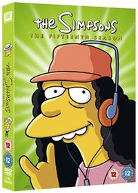 Simpsons: Complete Season 15 (DVD) - Cover