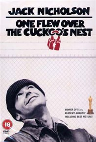 One Flew Over the Cuckoo's Nest (DVD) - Cover
