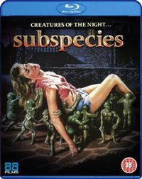 Subspecies (Blu-ray) - Cover