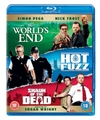The World's End/Hot Fuzz/Shaun of the Dead (Blu-ray)