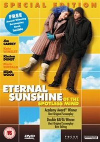 Eternal Sunshine of the Spotless Mind (DVD) - Cover