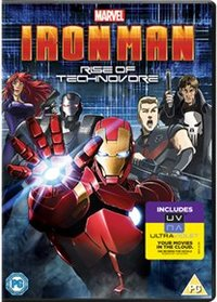 Iron Man: Rise of Technovore (DVD) - Cover