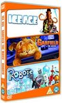 Robots/Ice Age/Garfield: the Movie (DVD)