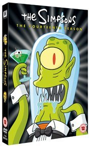 Simpsons: Complete Season 14 (DVD) - Cover