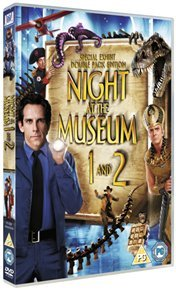 Night at the Museum/Night at the Museum 2 (DVD) - Cover