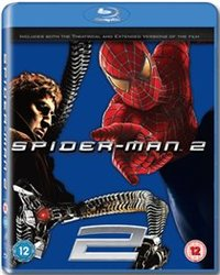 Spider-Man 2 (Blu-ray) - Cover