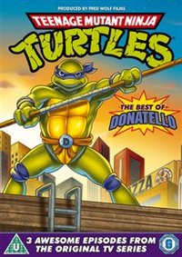 Teenage Mutant Ninja Turtles: Best of Donnatello (DVD) - Cover