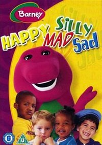 Barney: Happy Mad, Silly Sad (DVD) - Cover