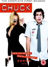 Chuck: The Complete First Season (DVD) - Cover