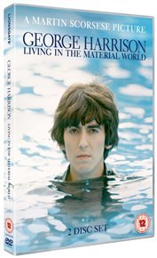 George Harrison: Living In the Material World (DVD) - Cover