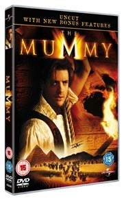 The Mummy (DVD) - Cover