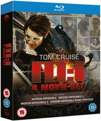 Mission Impossible 1-4 (Blu-ray) - Cover