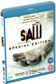 Saw: Uncut Version (Blu-ray) - Cover