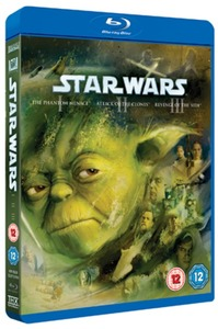 Star Wars Trilogy: Episodes I, II and III (Blu-ray)