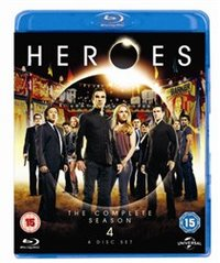 Heroes: Season 4 (Blu-ray) - Cover