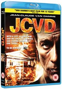 JCVD (Blu-ray) - Cover