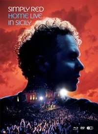 Simply Red - Home - Live in Sicily (Blu-ray) - Cover