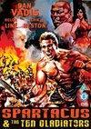 Spartacus and the Ten Gladiators (DVD)