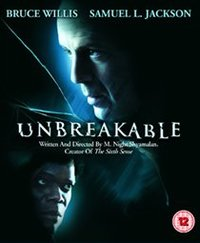 Unbreakable (Blu-ray) - Cover