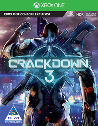 Crackdown 3 (Xbox One) - Cover