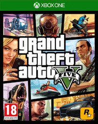 Grand Theft Auto V (Xbox One) - Cover