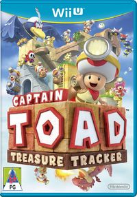 Captain Toad: Treasure Tracker (Wii U) - Cover
