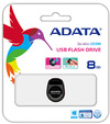 ADATA UD310 8GB USB 2.0 Gem Flash Drive - Black