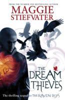 Dream Thieves - Maggie Stiefvater (Paperback) - Cover