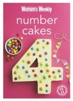 Number Cakes - The Australian Women's Weekly (Paperback) - Cover