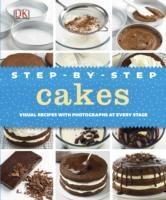 Step-By-Step Cakes - Dk (Hardcover) - Cover