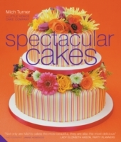Spectacular Cakes - Mich Turner (Hardcover) - Cover