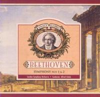Beethoven - Symphony 1 & 2 (CD) - Cover