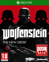Wolfenstein: The New Order (Xbox One) - Cover