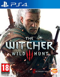 The Witcher 3: Wild Hunt (PS4) - Cover