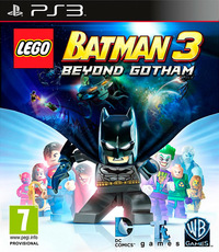 LEGO Batman 3: Beyond Gotham (PS3) - Cover
