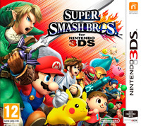 Super Smash Bros. (3DS) - Cover