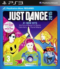 Just Dance 2015 (PS3) - Cover