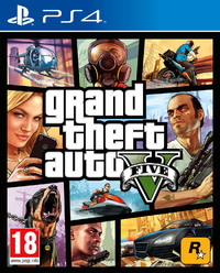 Grand Theft Auto V (PS4) - Cover