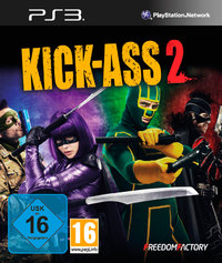 Kick-Ass 2 (PS3) - Cover