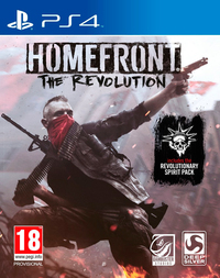 Homefront: The Revolution (PS4) - Cover