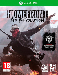 Homefront: The Revolution (Xbox One) - Cover