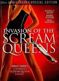 Invasion of the Scream Queens (Region 1 DVD) - Cover