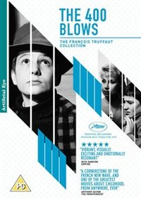 400 Blows (DVD) - Cover