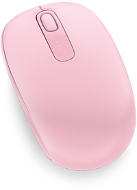 Microsoft - Wireless Mobile Mouse 1850 - Light Orchid - Cover