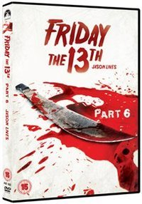 Friday The 13th - Part 6 - Jason Lives (DVD) - Cover