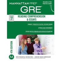 Manhattan Prep Gre Reading Comprehension & Essays - Manhattan Prep (Paperback)