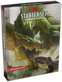 Dungeons & Dragons RPG - Starter Set (Role Playing Game) - Cover
