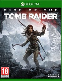 Rise of the Tomb Raider (Xbox One) - Cover