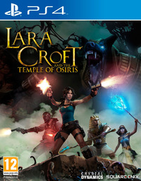 Lara Croft and the Temple of Osiris (PS4) - Cover