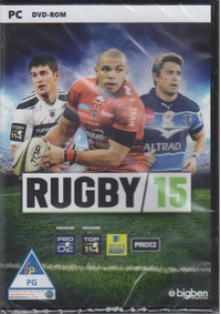 Rugby 15 (PC) - Cover